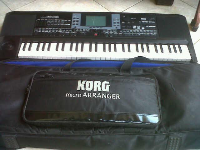 Terjual keyboard korg micro arranger