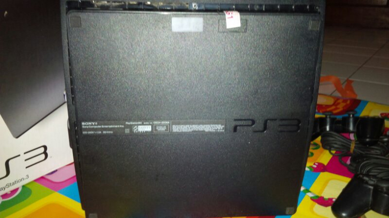Jual PS3 SLIM 120gb CFW 4.55