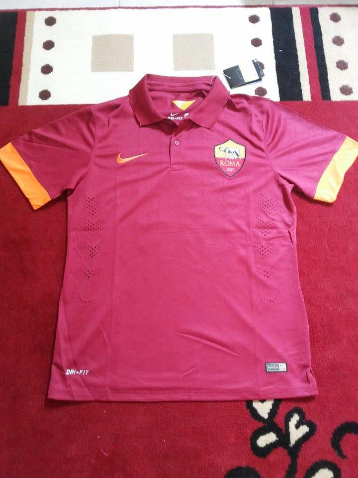 WTS : Jersey AS Roma Home Nameset Totti (Double Layer)
