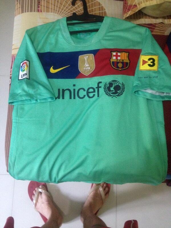 Jual Jersey Retro Barca / Barcelona sepaket