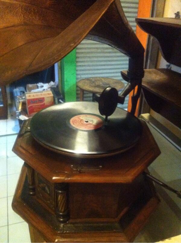Gramaphone merk His Master Voice