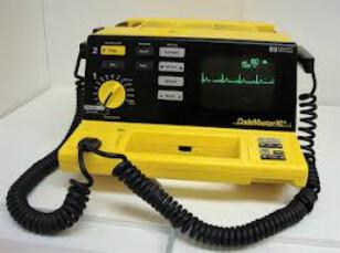 Defibrilator merk HP tipe Code Master