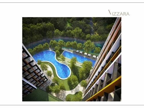 Izzara Apartemen @ TB Simatupang, North Tower 1 BR 64m2, Di Bawah Pasaran