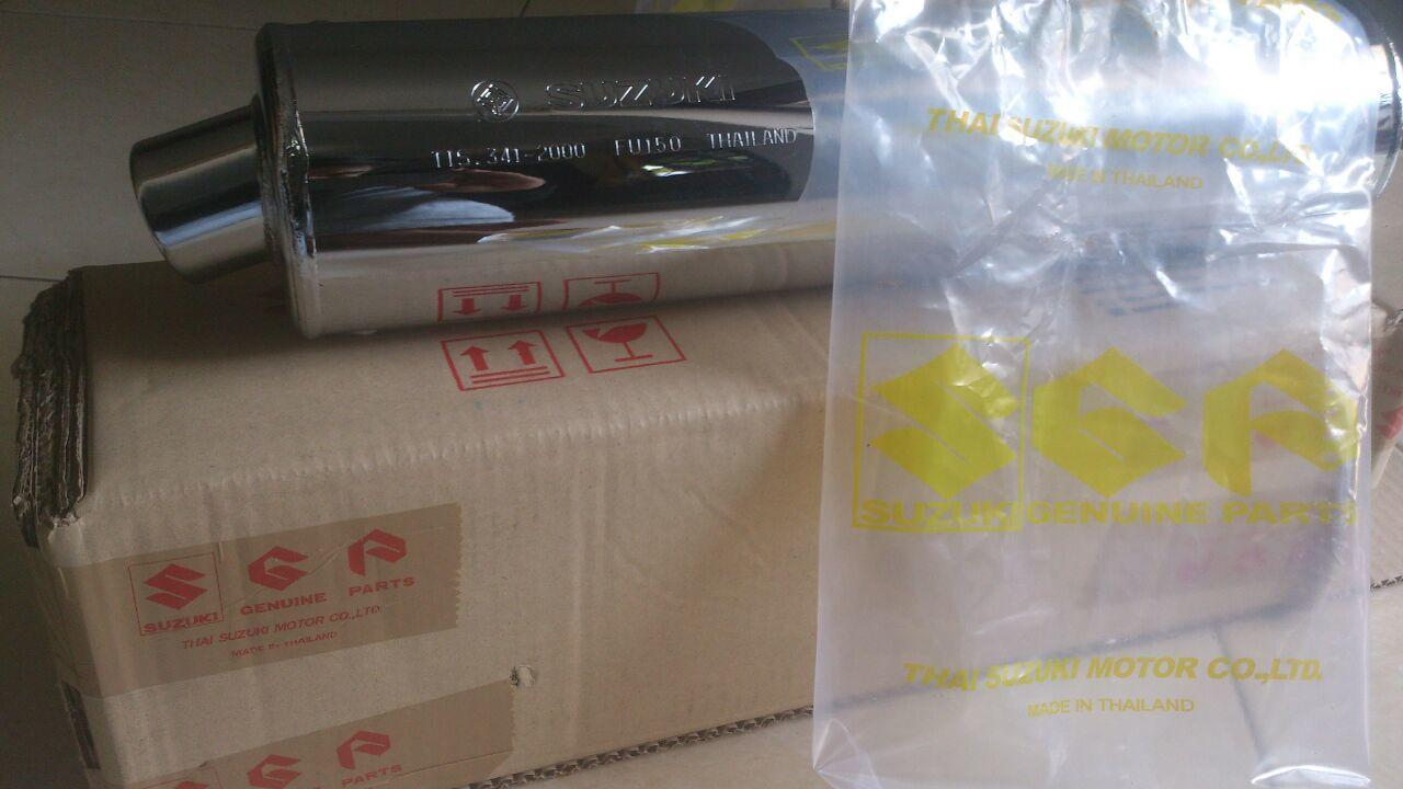 Terjual Silencer Knalpot Satria Fu Model Lama Cbu New Original Old Thailand