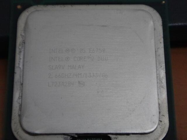 Processor Core 2 Duo E6750 2.66Ghz