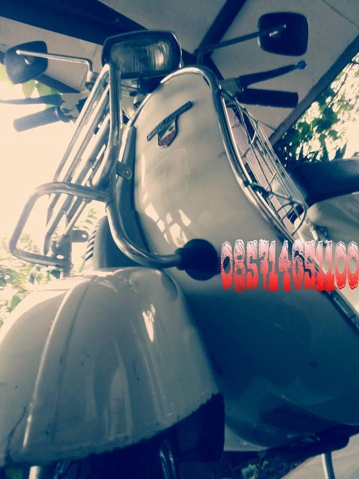 Vespa P100TS/PTS 100/SPECIAL orisinil tangan pertama warna putih pabrik istimewa!
