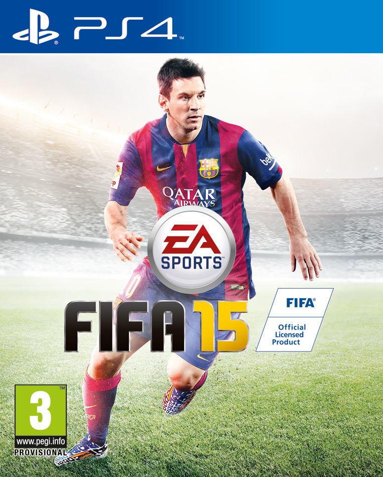 KASET PS4 ORIGINAL FIFA 15 Ultimate Team Edition
