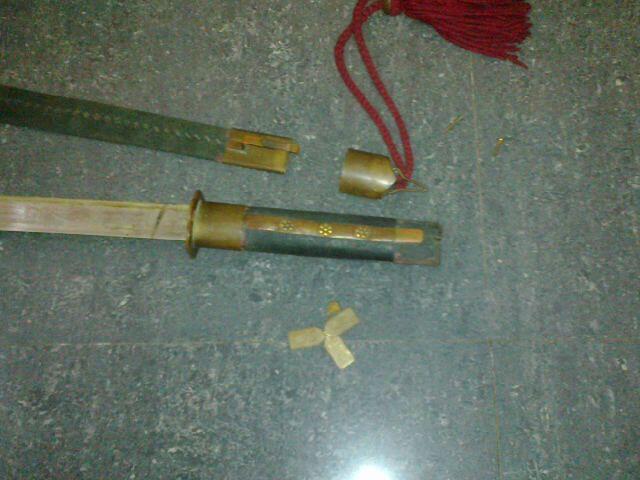 Jual pedang sabuk 1817