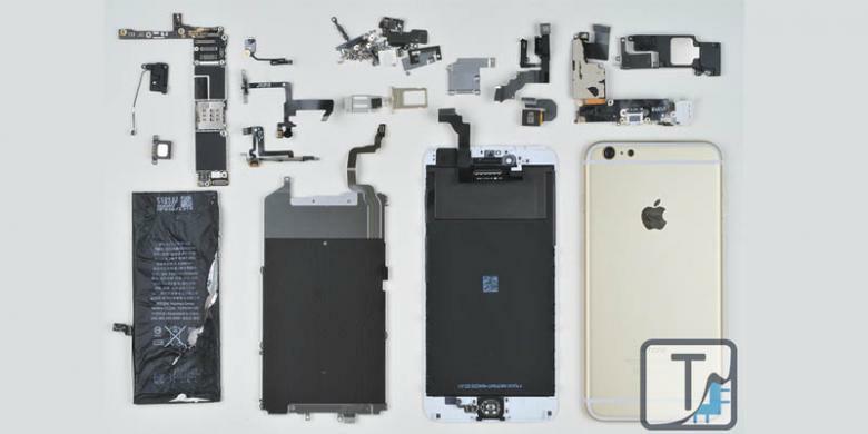 [digoblokin tapi bangga] iPhone 6 Dibongkar, Profit Tinggi Apple Terungkap