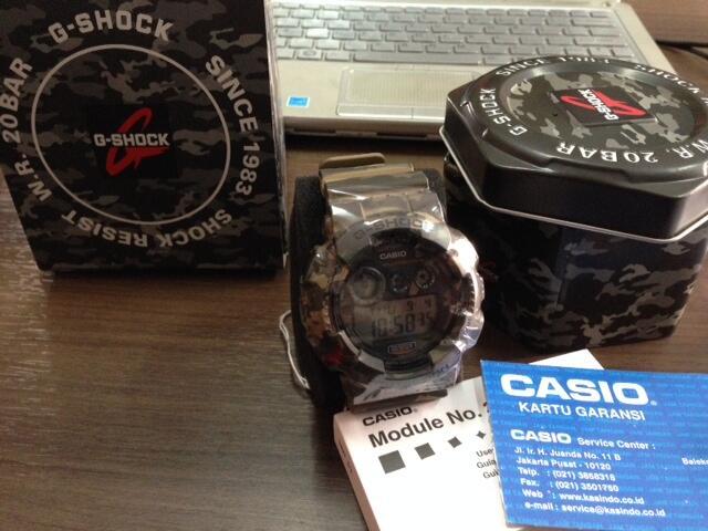 Casio G - Shock GD 120 CM - 5 Army Green Camo Brand New in Box