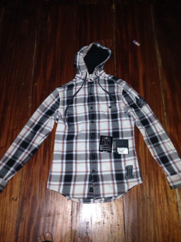 Kemeja hoodie harley davidson second original