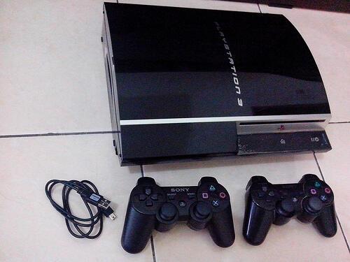 PS3 FAT 40GB JUAL MURAH AJA 1250
