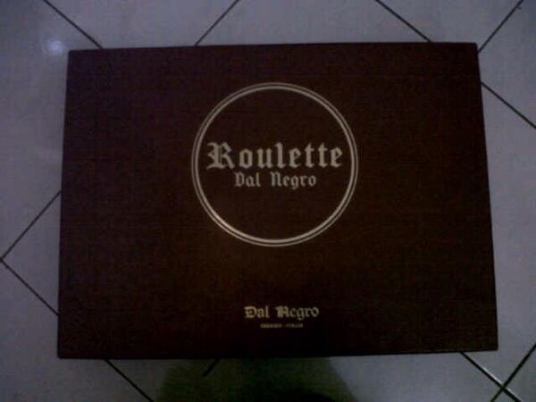 Jual Roulette Mini Merk Dal Negro