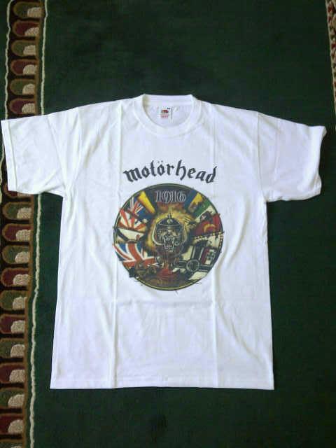 WTS Tees Motorhead Size M Bandung