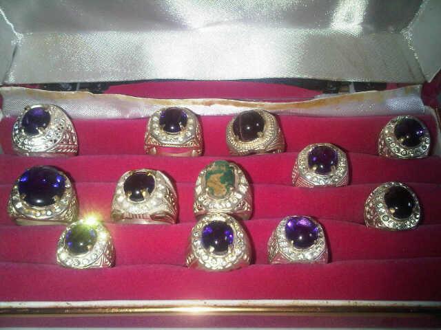 Cincin Antik, Batu Cincin, Kecubung Kalimantan Asli, Bagus Banget