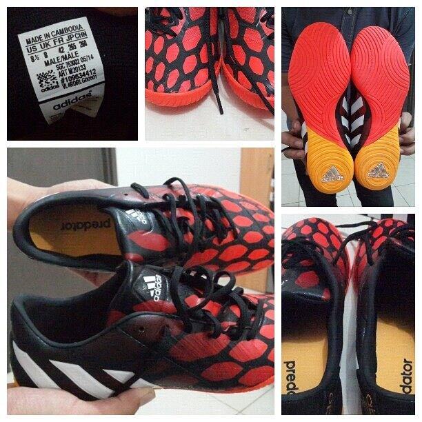 ... usa jual sepatu futsa adidas predator instinct new ukuran 42 070b4 95459 406a7fed46