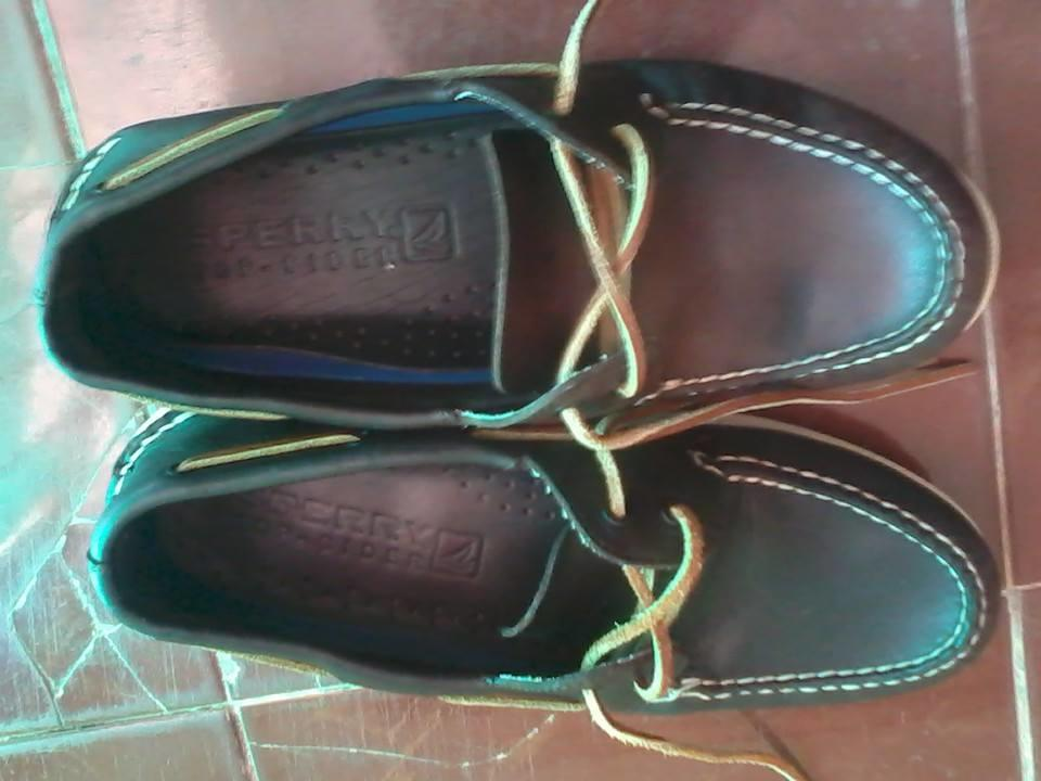 sepatu boat shoes sperry top sider original murmer cuma 200k sz 11,5/45 like new