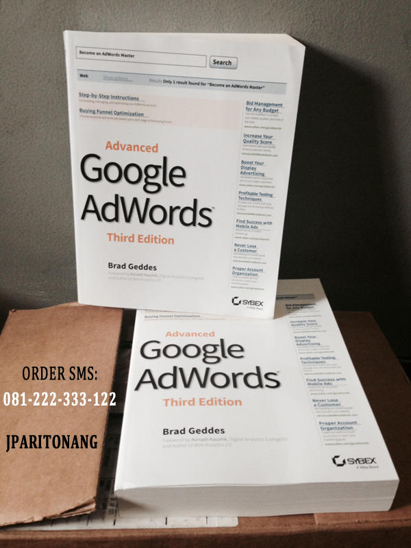 advanced google adwords Available in: paperback the ultimate guide to google adwords is fully updated for its third edition this is the ultimate guide for those who.