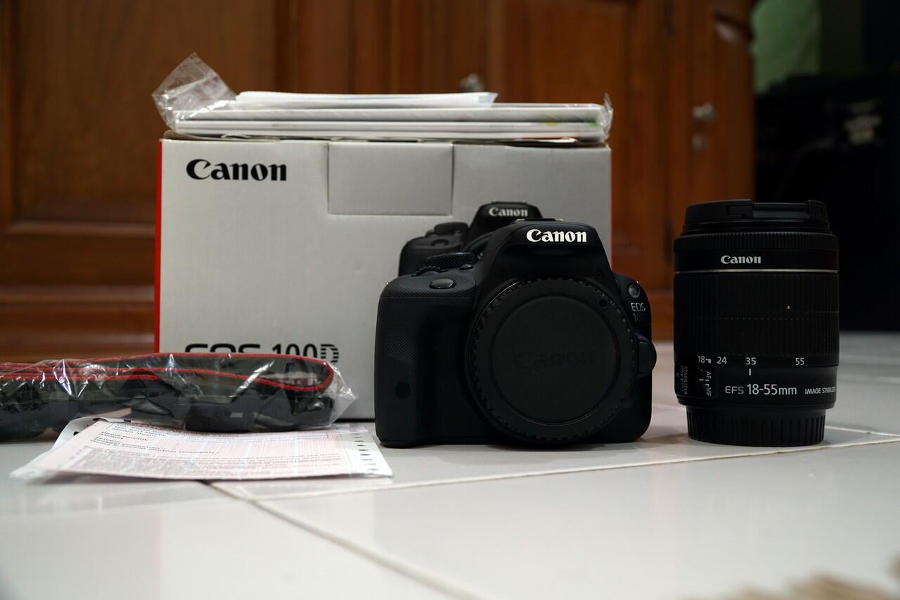canon eos 100d lens kit