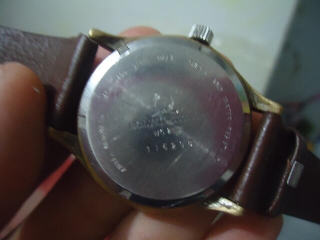 Jam Tangan Antik & Unik TITUS Bulat Gemuk