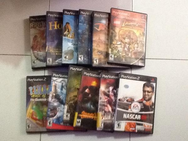 Kaset PS 2 original