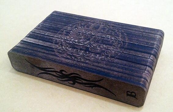 tempat kotak rokok kayu grafir