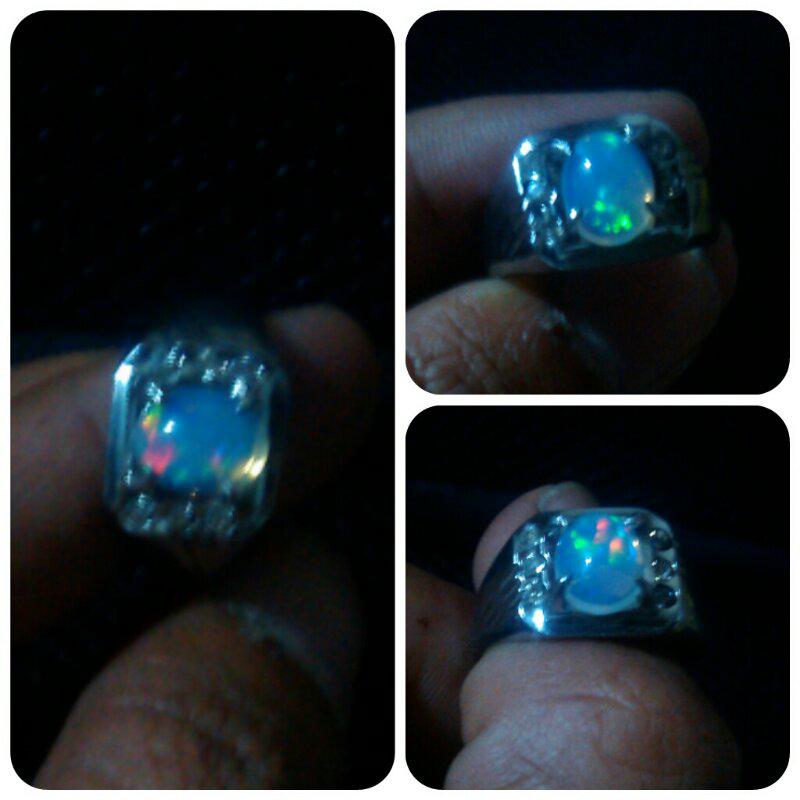 ring siap pakai rubby, opal / kalimaya dll
