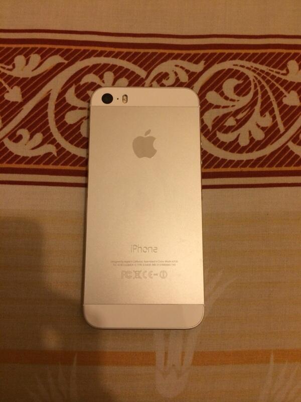 iphone 5s silver 16gb mulus lus fullset malang