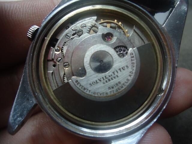 Jam Tangan Antik & Unik TITUS 77 Coklat