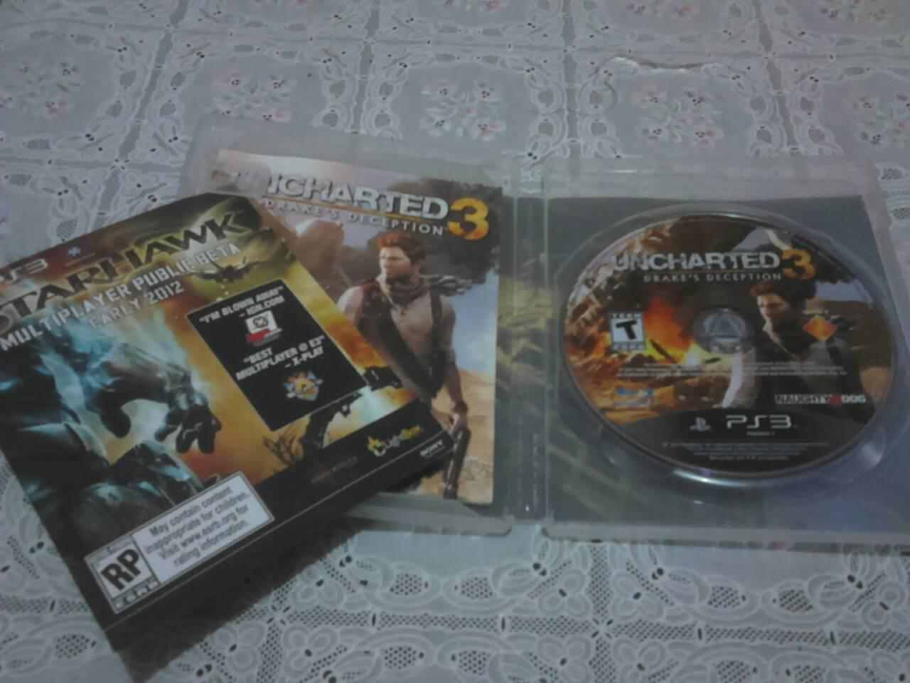 Jual Rugi BU Uncharted 3, Red Faction, and Battlefield 3