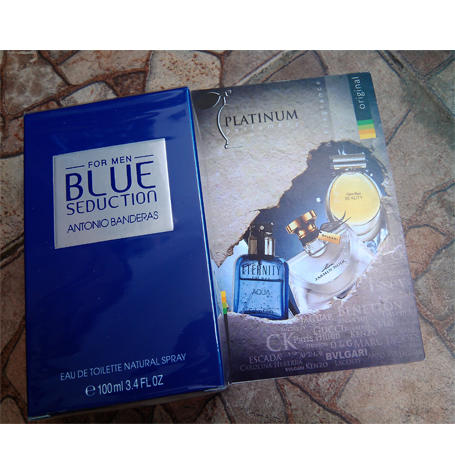 Parfum Original Antonio Banderas Blue Seduction for Men
