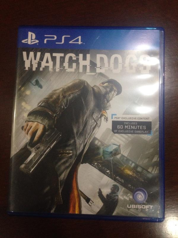 Wts Watch dogs ps4 2nd