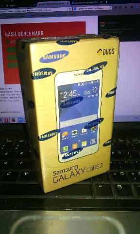 hp samsung BNIB Galaxy core 2 G355H hitam termurah gan. cekidot!