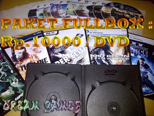 ===dvd game pc 5000===komplite berbagai paket..cod depok,,isi hd juga ok