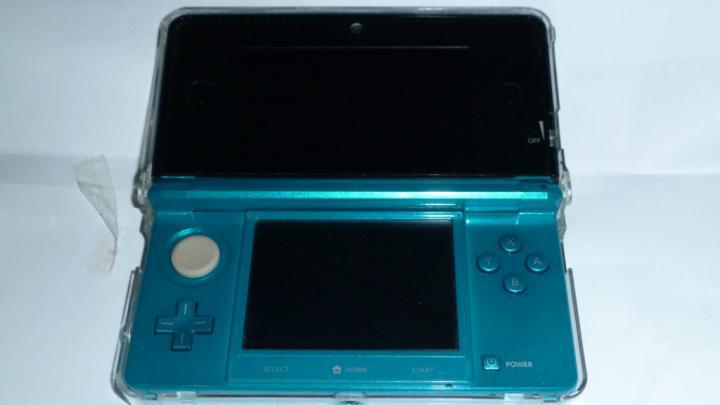 WTS 3DS AQUA BLUE MULUS FULLSET