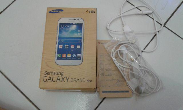 WTS Samsung Galaxy Grand Neo Putih Baru 3 Bulan Ex Cwe