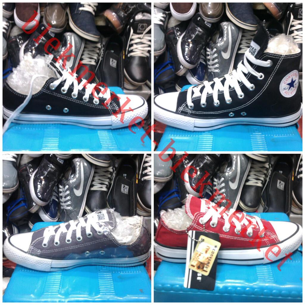 Sepatu Converse all stars 135rb - kw terbaik