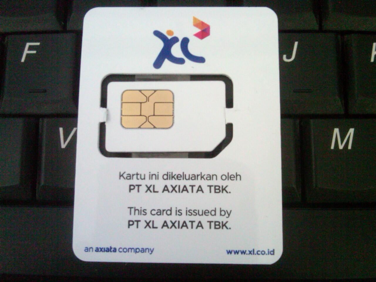 Jual kartu perdana XL Cantik Yogyakarta