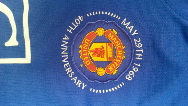 Original Jersey Machester United Anniversary