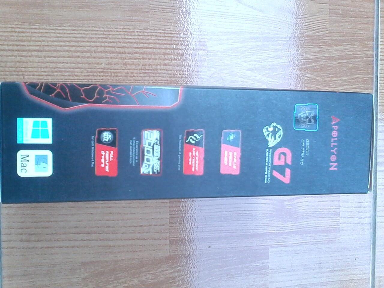 Mouse Gaming Apollyon G7 + CD Macro Setting