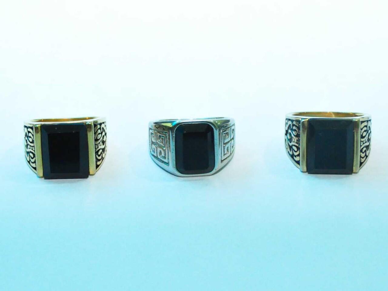 Batu Apa Adanya + Ring Titanium