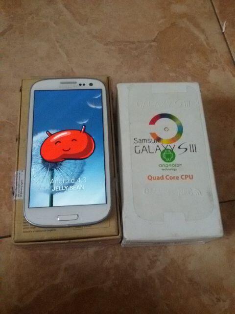 Terjual Samsung Galaxy S3 Besar Putih Quadcore Ram1GB