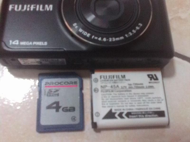 [WTS] Kamera Digital Fujifilm Finefix JX520 Hitam