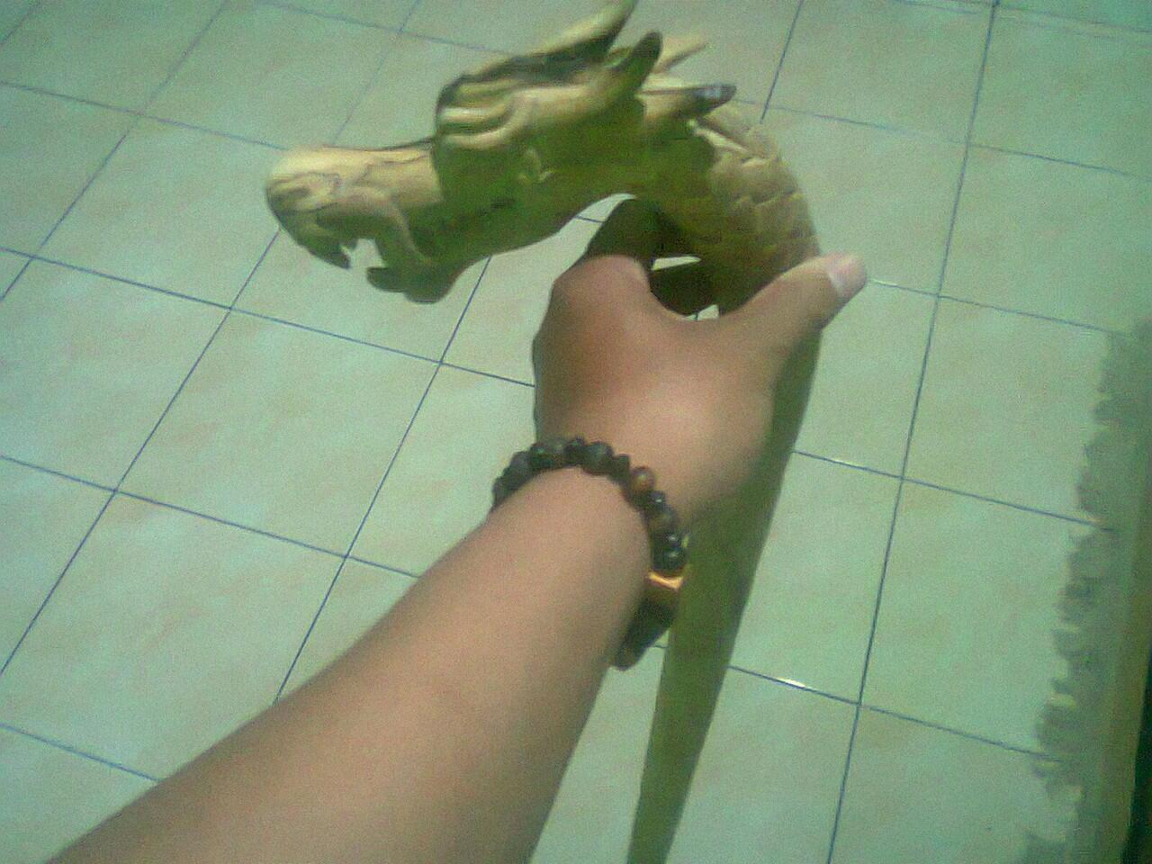 tongkat naga kayu timoho pellet sampir