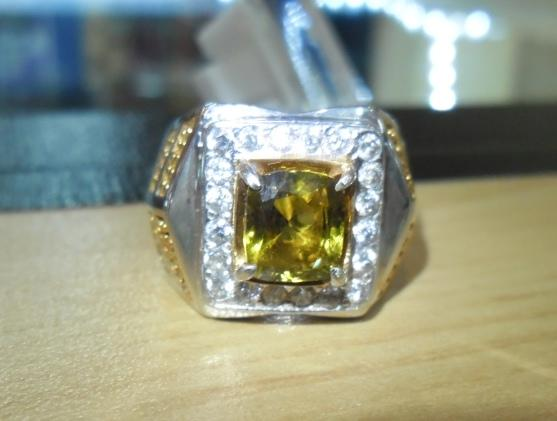 Alexandrite Chrysoberyl Color Change 99% Crystal Clean No Heat +Lux Silver Ring+ Memo
