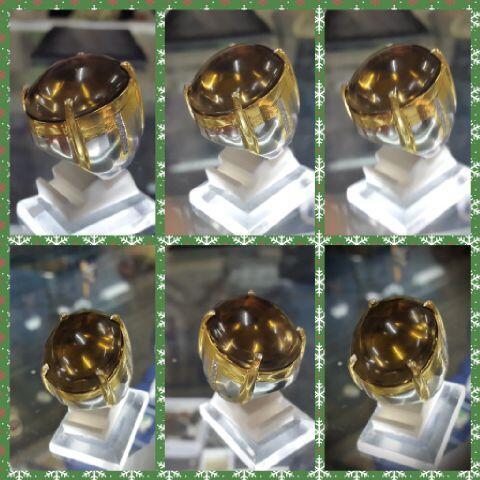 kecubung teh kalimantan super kristal