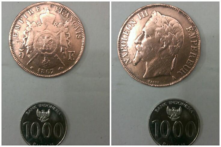 dijual koin kuno dan antik