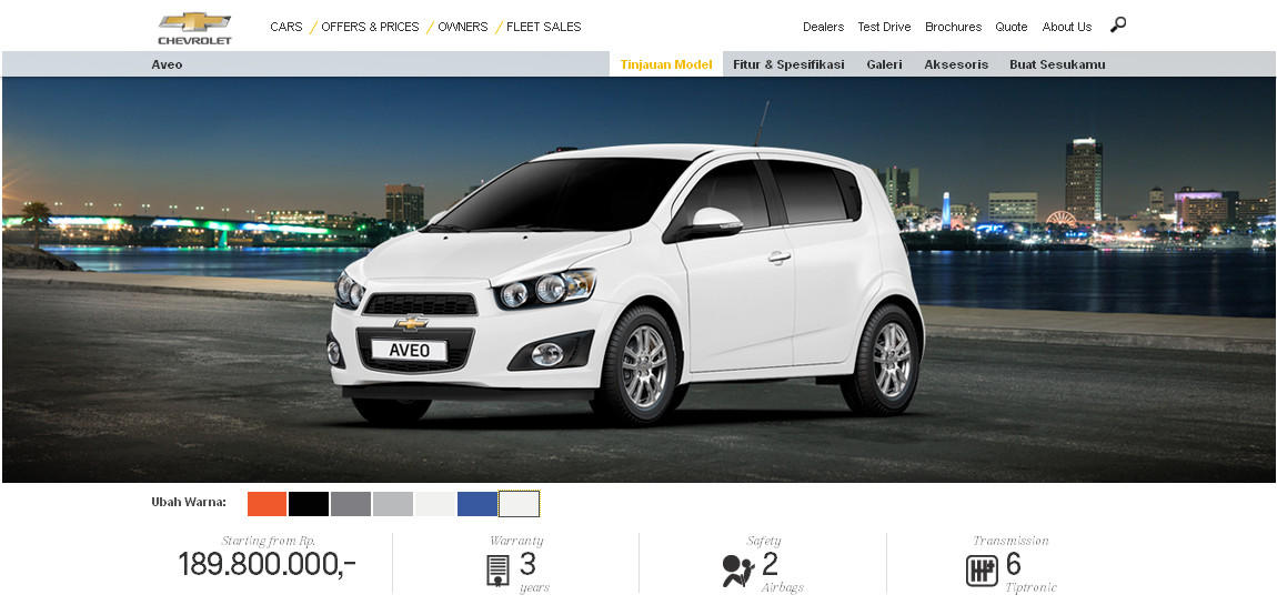 The All New Chevrolet Aveosonic Page 117 Kaskus