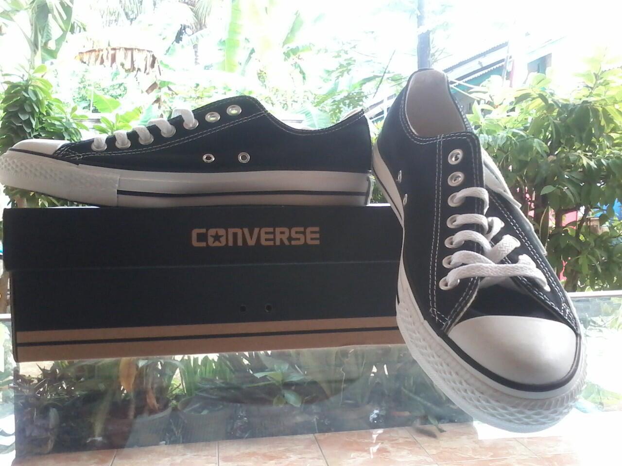 Terjual Sepatu Converse Ct As Canvas Hitam Original Size 40 42 Kaskus Black