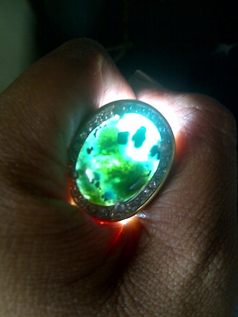 wts bacan doko body glass serat halus kristal